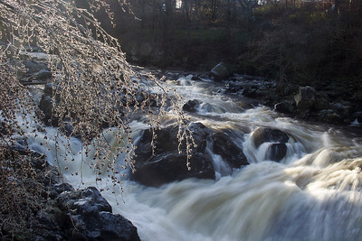 Frozen Falls Of Feugh.