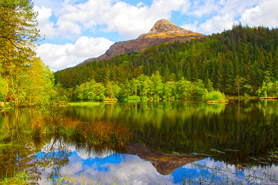 Reflections of the PAP  of Glencoe Mountain.