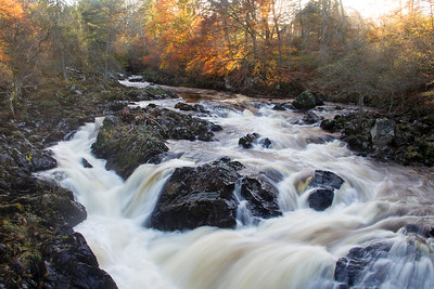 River Feugh at Banchory Aberdeenshire.