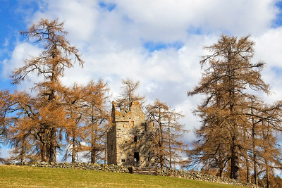 Knock Castle near Ballater. Scotland.