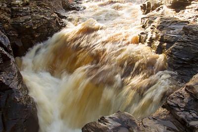 Waterfall at Braemar. John Chapman.
