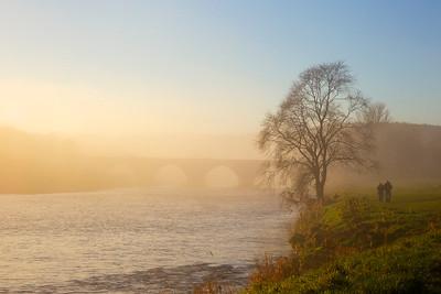 Misty Brig of Dee Aberdeen Scotland.