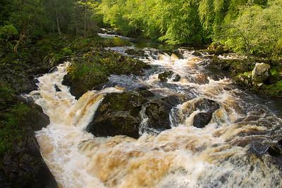 Falls of Feugh. Banchory Aberdeenshire.