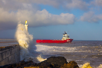 Bay of Nigg. Aberdeen.