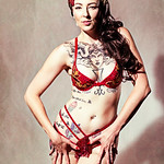 Ophelia Pop Tart - Burlesque Pin-Up