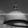Dome at Camposanto Monumentale, Pisa, Italy. - mono