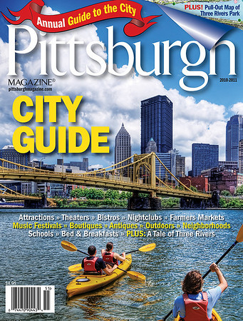 Pittsburgh Magazine City Guide Cover