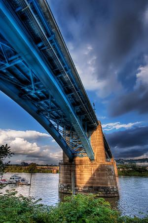 Underneath The 31st Street Bridge