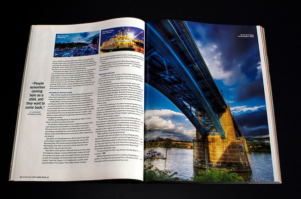 """Pittsburgh Magazine """"A Tale of Three Rivers"""""""