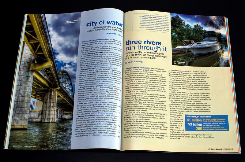 "Pittsburgh Magazine ""A Tale of Three Rivers"""