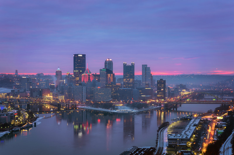 Pittsburgh In Winter