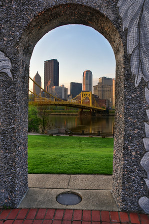 """Gateway to Pittsburgh"" - Pittsburgh, North Shore   Recommended Print sizes*:  4x6  
