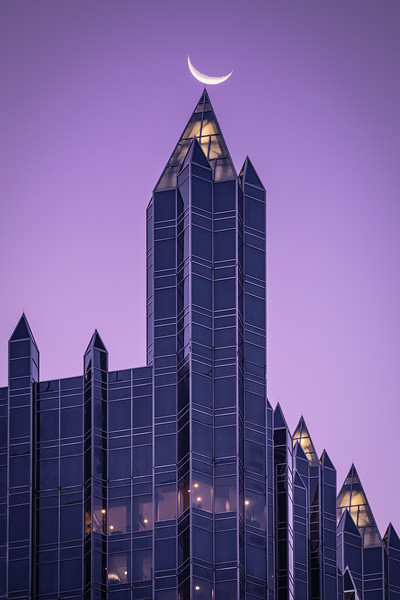 """Teetering"" - Pittsburgh, PPG Place   Recommended Print sizes*:  4x6  