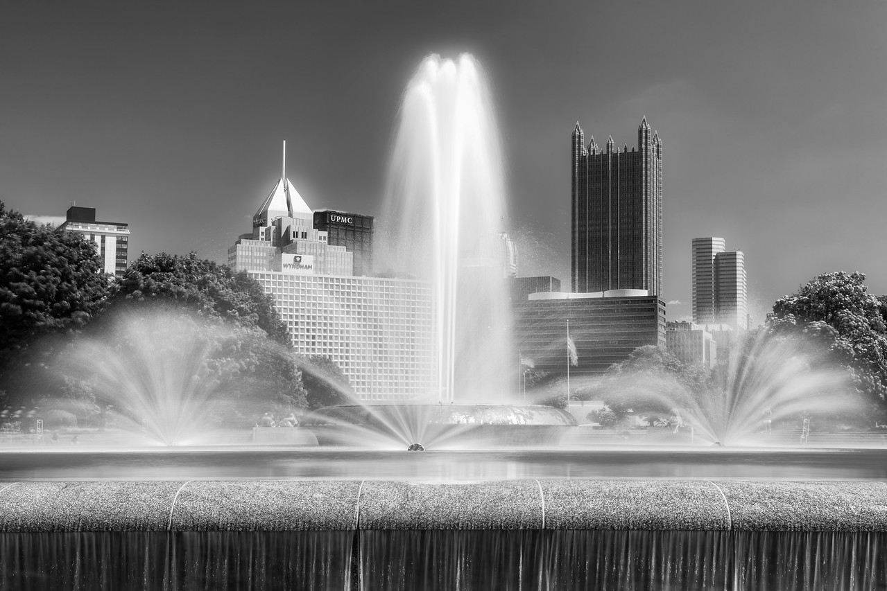 """""""Stark Towers"""" - Pittsburgh, Point Park   Recommended Print sizes*:  4x6  
