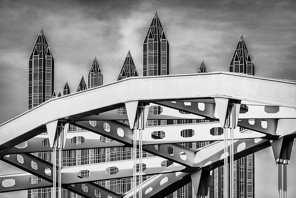 """""""Spires and Steel"""" - Pittsburgh   Recommended Print sizes*:  4x6  