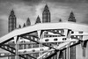 """<center><br><font size=""""4"""" color=""""white""""><b>""""Spires and Steel"""" - Pittsburgh</b><br> </font> <br><font size=""""3"""" color=""""white""""> <u>Recommended Print sizes*</u>:<br>  4x6  