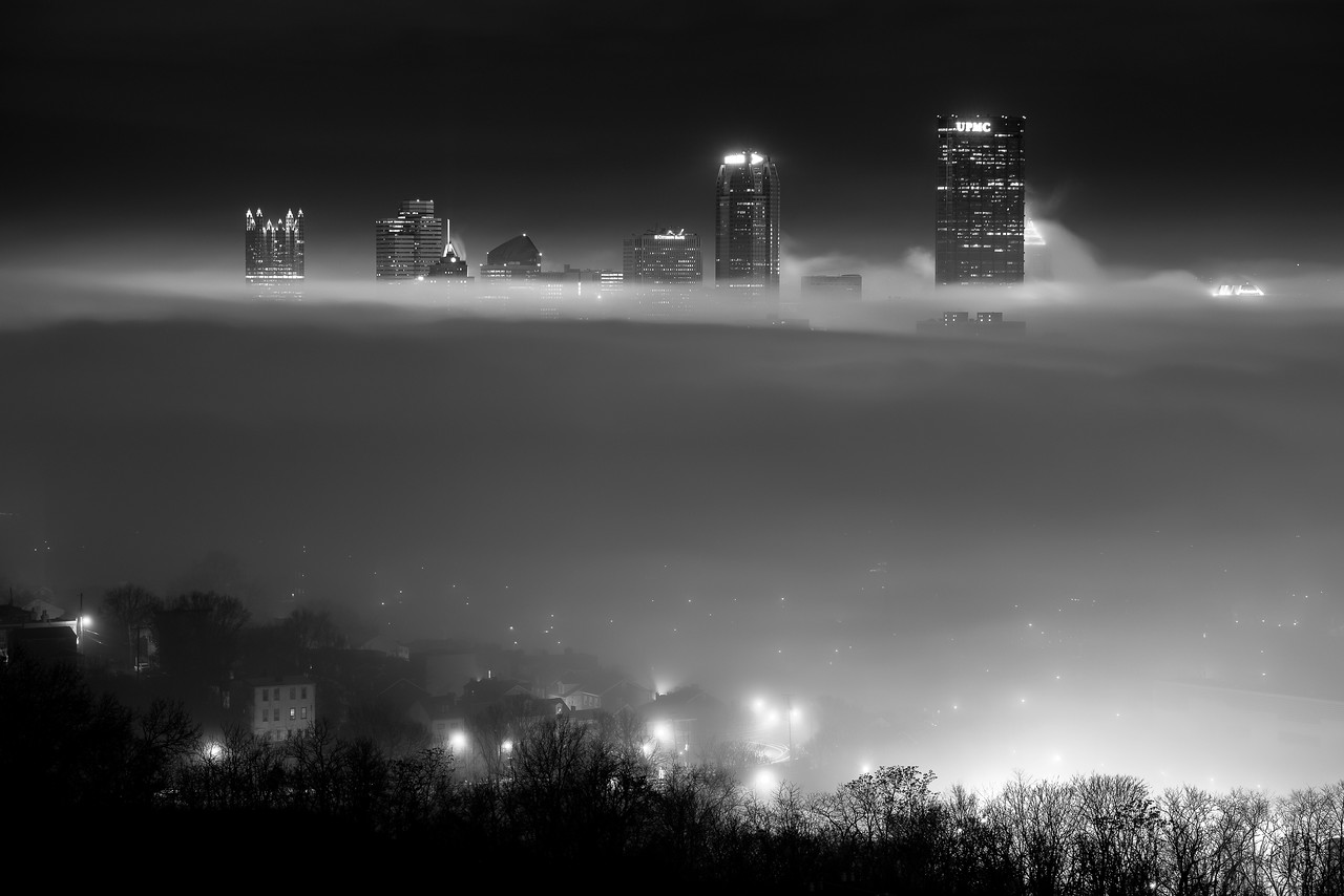 """""""Rise Above"""" - Pittsburgh, South Side   Recommended Print sizes*:  4x6  