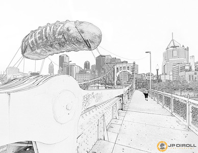 Picklesburgh Coloring Page  Just right click, save, and print!