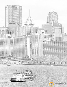 Gateway Clipper Coloring Page  Just right click, save, and print!