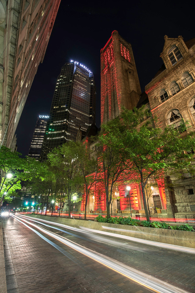 """""""Night Court"""" - Courthouse, Downtown Pittsburgh   Recommended Print sizes*:  4x6  
