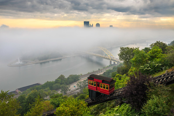 """Veiled"" - Pittsburgh, Mt. Washington   Recommended Print sizes*:  4x6  