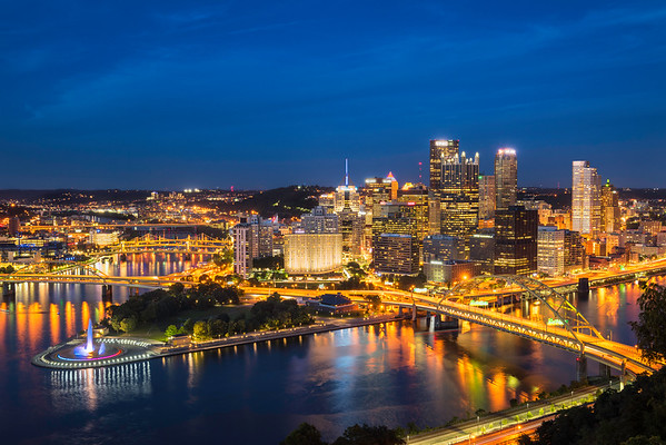 """Red, White, & Burgh"" - Pittsburgh, Mount Washington   Recommended Print sizes*:  4x6  