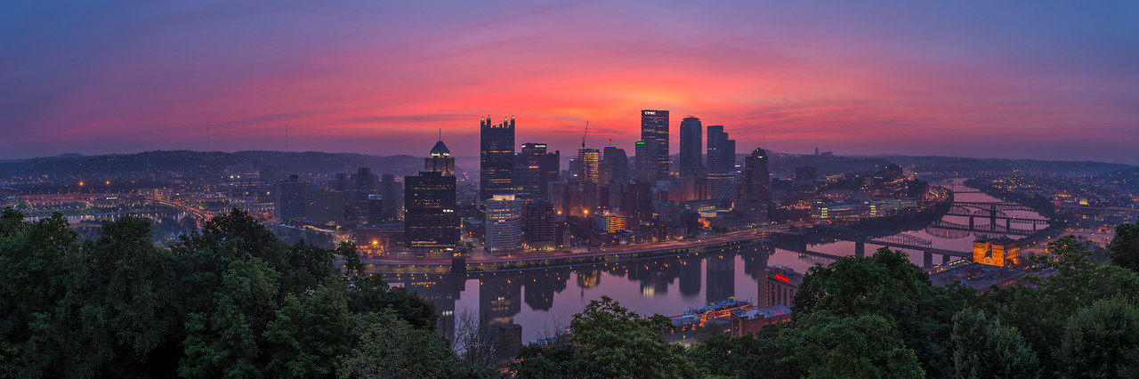 """""""Fleeting"""" - Pittsburgh, Mount Washington   Recommended Print sizes*:  5x15  