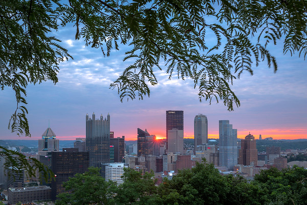 """""""Tree Star"""" - Pittsburgh, Mt. Washington   Recommended Print sizes*:  4x6  