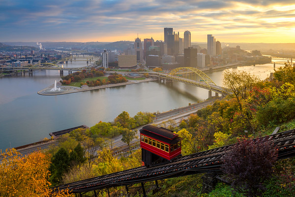 """The Usual Haunt"" - Pittsburgh, Mount Washington   Recommended Print sizes*:  4x6  