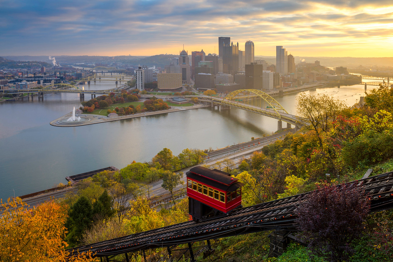 """""""The Usual Haunt"""" - Pittsburgh, Mount Washington   Recommended Print sizes*:  4x6  