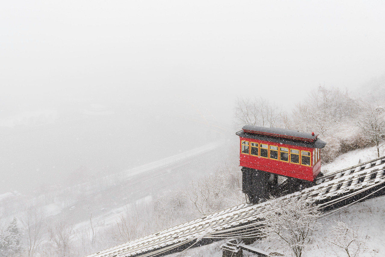 """""""Snow Blind"""" - Pittsburgh, Mount Washington   Recommended Print sizes*:  4x6  