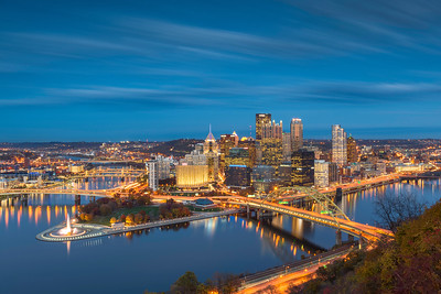 """Mountain Magic"" - Pittsburgh, Mount Washington   Recommended Print sizes*:  4x6  