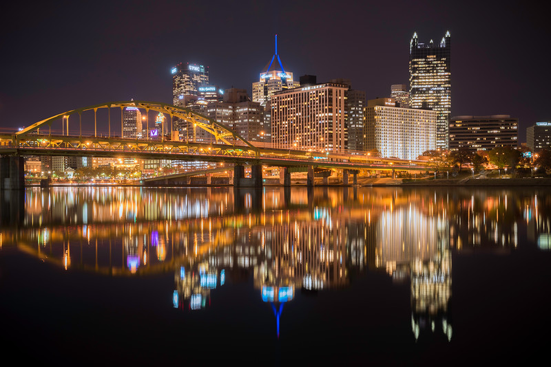 """Twice as Nice"" - Pittsburgh, North Shore   Recommended Print sizes*:  4x6  