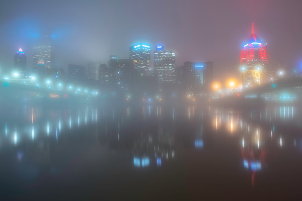 """""""Mistified"""" - Pittsburgh, North Shore   Recommended Print sizes*:  4x6  