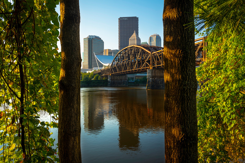 """""""Split the Uprights"""" - Pittsburgh, North Shore   Recommended Print sizes*:  4x6  