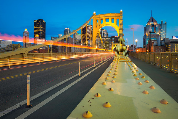 """Warp Speed"" - Pittsburgh, North Shore   Recommended Print sizes*:  4x6  