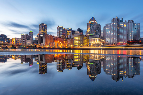 """Puddles the Second"" - Pittsburgh, North Shore   Recommended Print sizes*:  4x6  