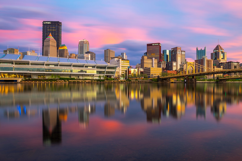 """In A Pittsburgh Minute"" - Pittsburgh, North Shore   Recommended Print sizes*:  4x6  
