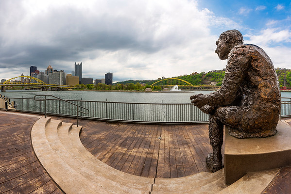 """Watching Over the Neighborhood"" - Pittsburgh, North Shore   Recommended Print sizes*:  4x6  