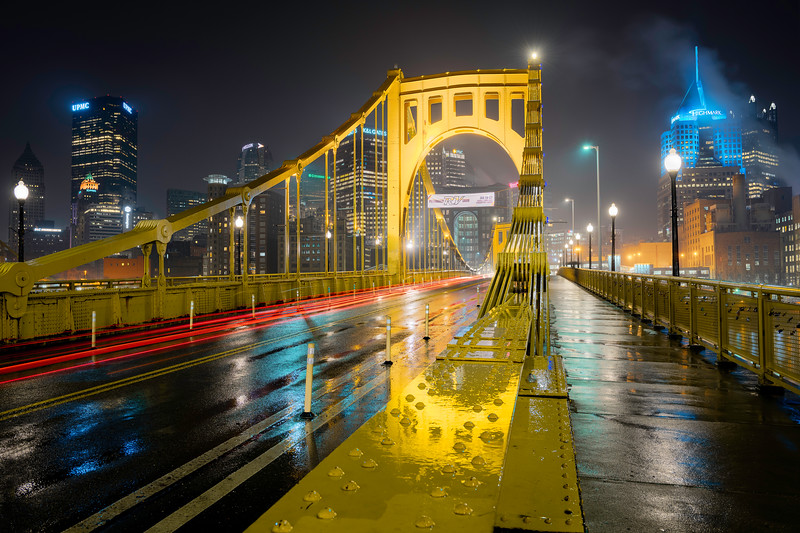 """A Different Puddle"" - Pittsburgh, North Shore   Recommended Print sizes*:  4x6  