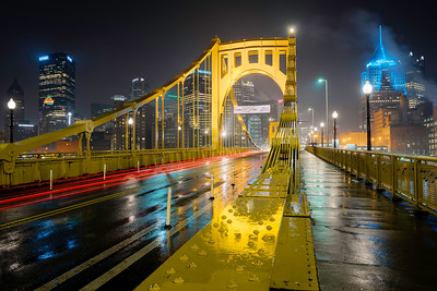 """""""A Different Puddle"""" - Pittsburgh, North Shore   Recommended Print sizes*:  4x6  