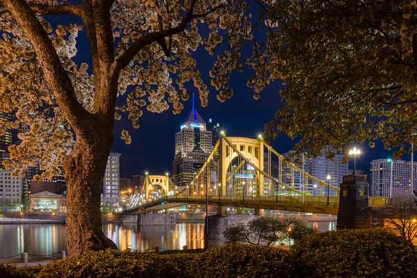 """Sprung Reenvisioned"" - Pittsburgh, North Shore   Recommended Print sizes*:  4x6  