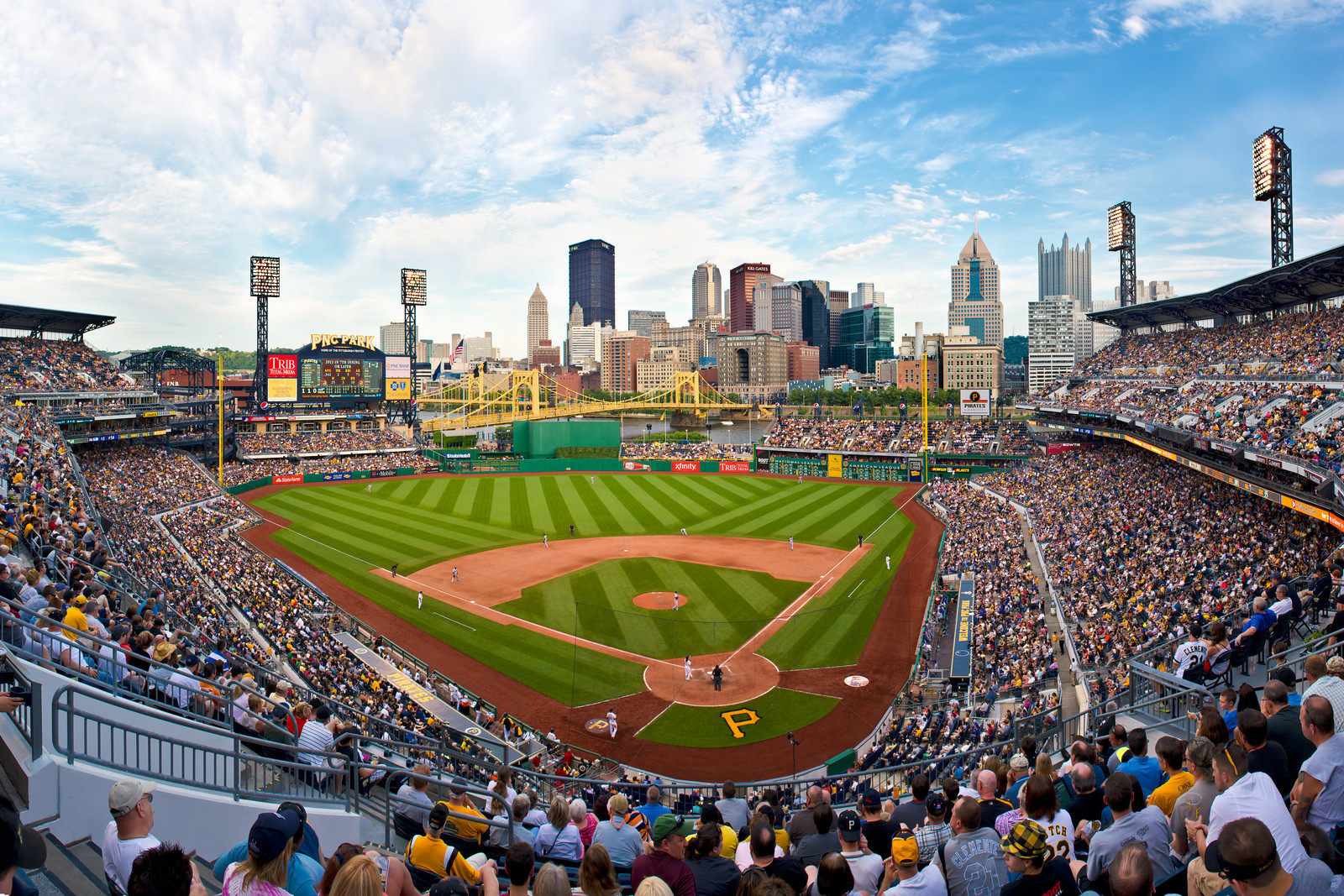 """""""McCutcheon at the Bat"""" - Pittsburgh, PNC Park   Recommended Print sizes*:  4x6  