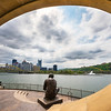 "<center> <br><font><b>""A Beautiful Day in the Neighborhood"" - Pittsburgh, North Shore</b> </font> <br><font> <u>Recommended Print sizes*</u>:  4x6  