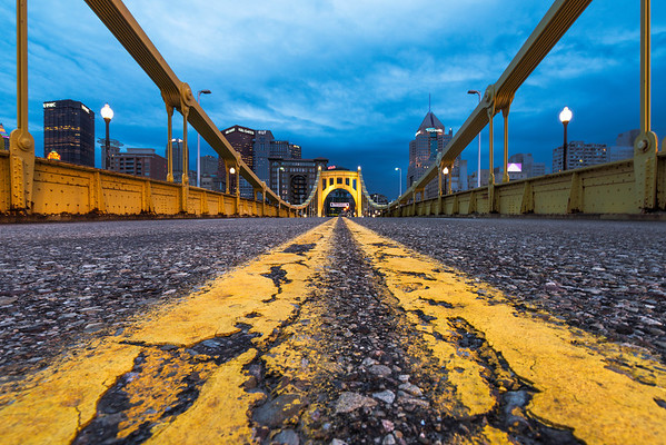"""Low Profile"" - Pittsburgh, North Shore   Recommended Print sizes*:  4x6  