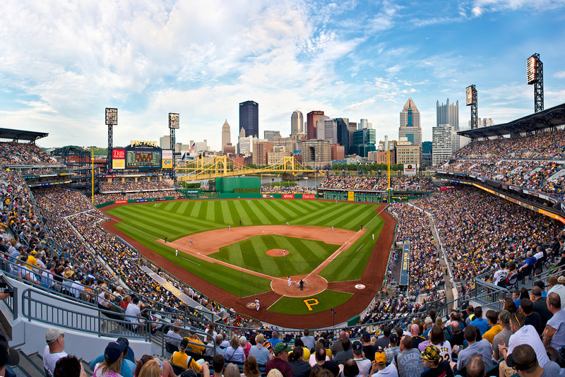 """McCutcheon at the Bat"" - Pittsburgh, PNC Park   Recommended Print sizes*:  4x6  