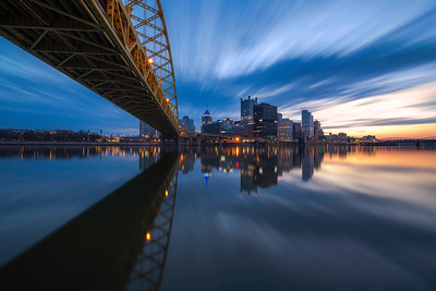 """Blue Streak"" - Pittsburgh, South Shore Shore   Recommended Print sizes*:  4x6  