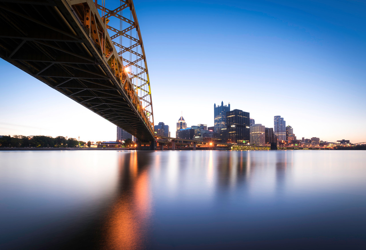 """""""Moody Blues"""" - Pittsburgh, South Shore   Recommended Print sizes*:  4x6  