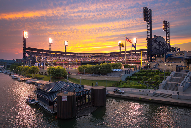 """Field of Dreams"" - Pittsburgh, PNC Park   Recommended Print sizes*:  4x6  