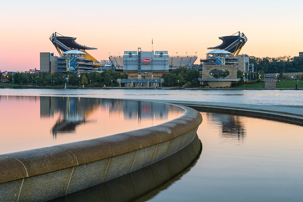 """Lead the Way"" - Pittsburgh, Heinz Field   Recommended Print sizes*:  4x6  